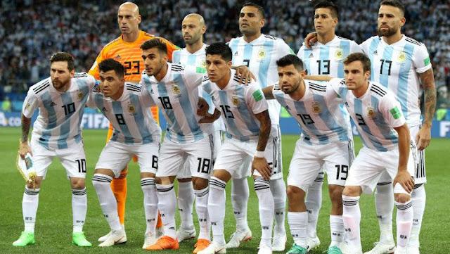 Skuat Tim Nasional Argentina di Piala Dunia 2018