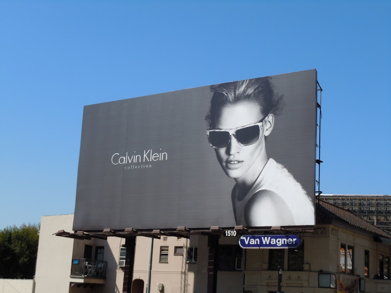 Calvin Klein Collection sunglasses billboard
