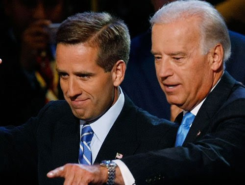 Joe Biden, United States Vice President loses 46 years old son, Beau Biden, to cancer.