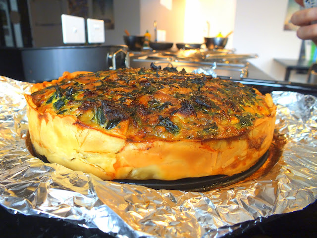 Recipe: Spinach Tart