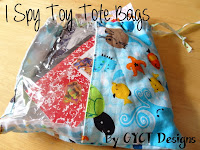 I Spy Totes & Toy Storage Totes by GYCT