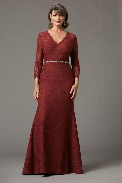 Vestidos de noche para mujeres maduras y gorditas