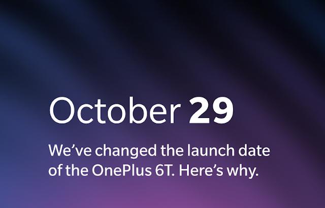 بسبب أبل تم تقديم حدث OnePlus 6T ليوم واحد