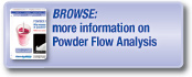 Browse more information on Powder Flow Analysis