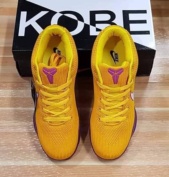 KOBE EXODUS Men's Shoes (Yellow)