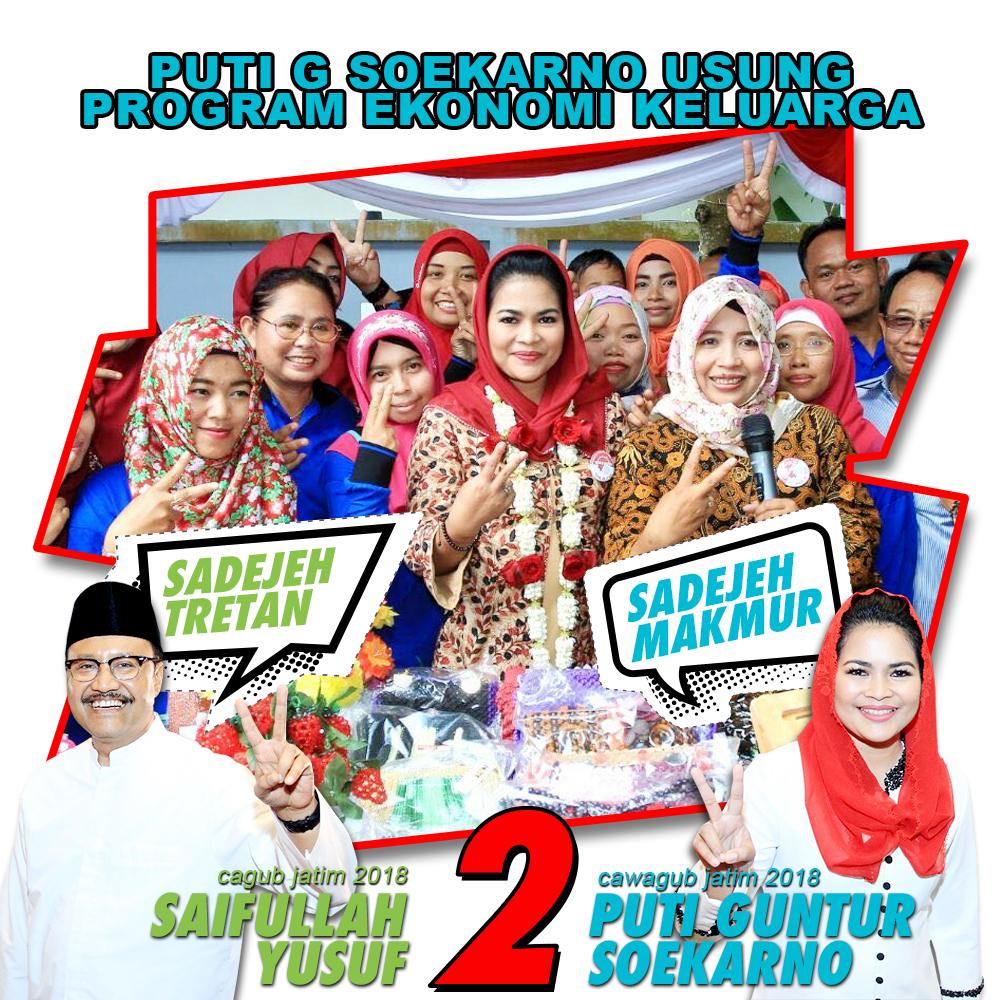 Puti G Soekarno Usung Program Ekonomi Keluarga