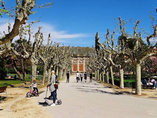 Park Ciutadella - atrakcje Barcelony