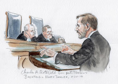 Supreme Court Sketch Artist Caught Clarence Thomas Sleeping