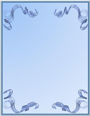 fondos azules con orilla azul y fondo pálido para decorar portadas