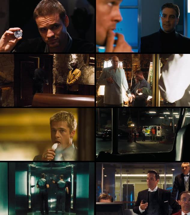 Ocean's Eleven 2001 Dual Audio Hindi 720p BRRip
