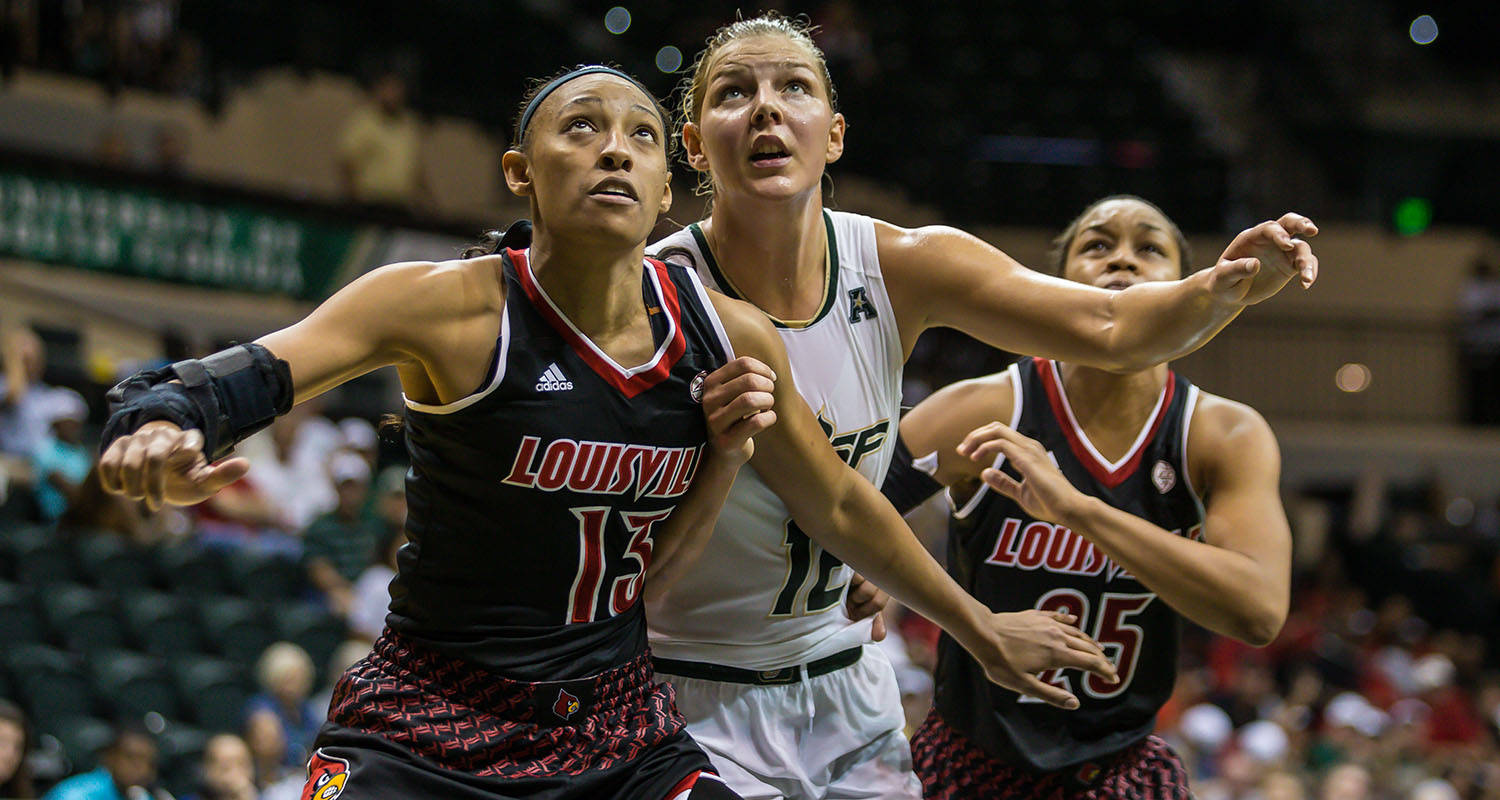 Cardinal Couple: Louisville Women's Basketball -- Triumph ...