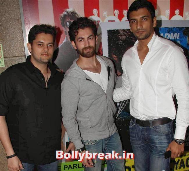 Neil Mukesh, Shilpa Shetty, Bipasha Basu at Dishkiyaoon Premiere