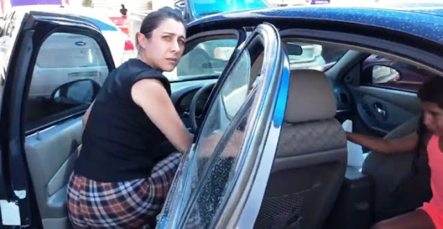 A Mother Left Her Little Girl Locked In The Car In The Heat To Go Shopping