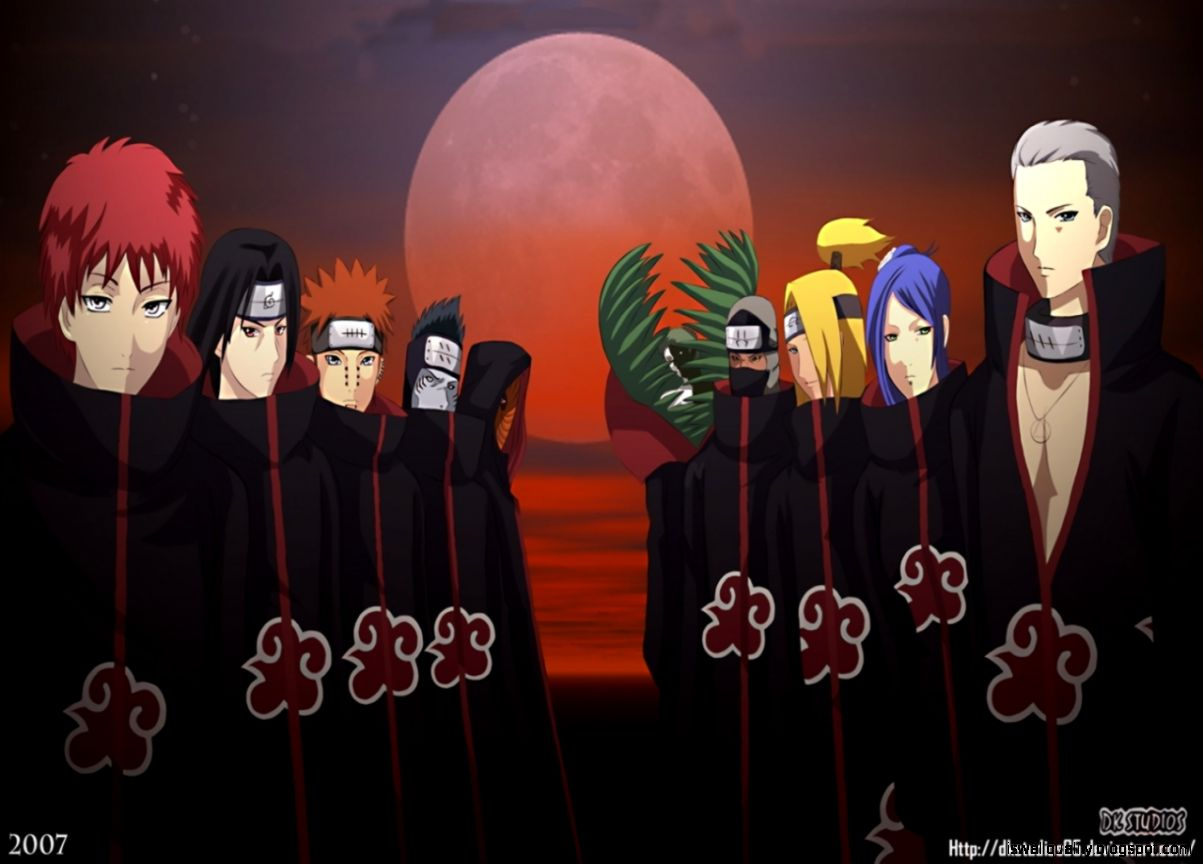 naruto images akatsuki wallpapers hd wallpaper and background