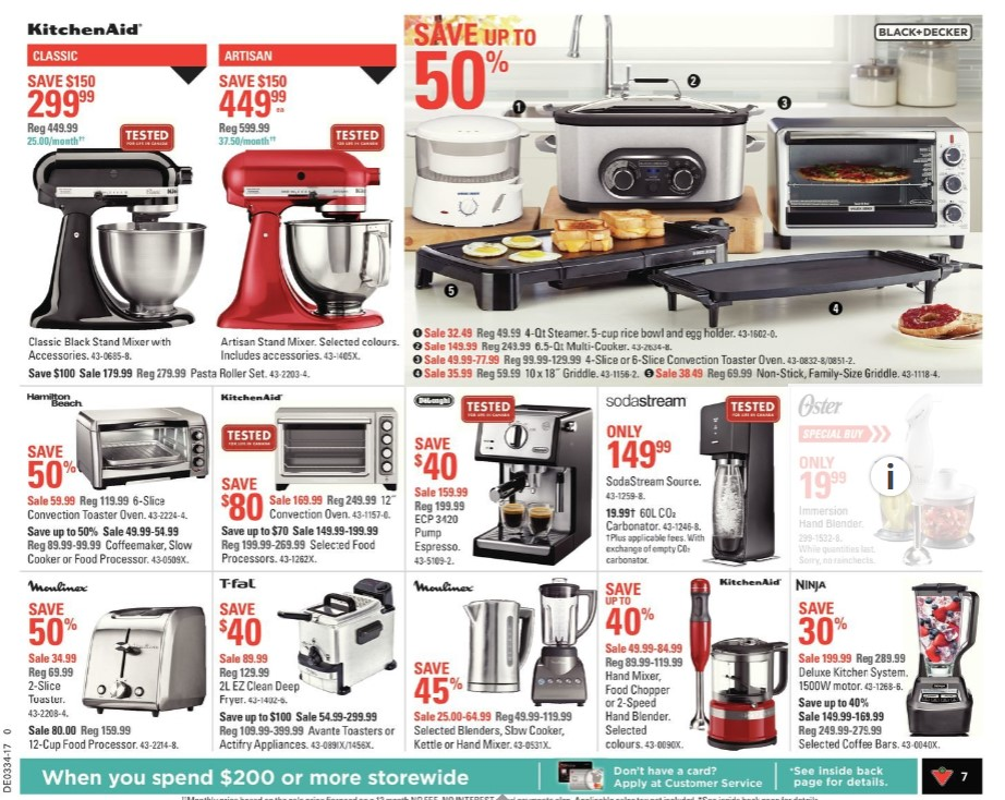 Kitchen Aid At Canadian Tire