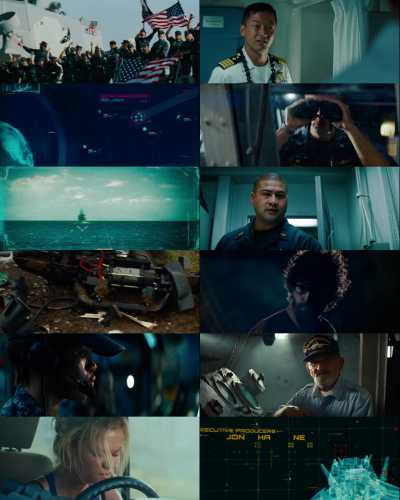 Battleship (2012) Hindi Dubbed 300mb