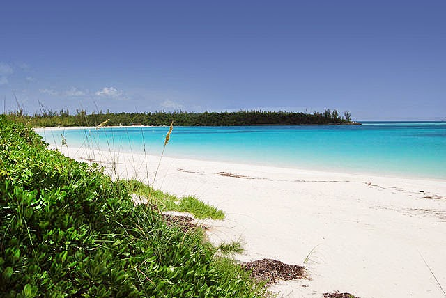 Treasure Cay Beach in the Bahamas. One of the best beaches in the Caribbean and best in the wolrld