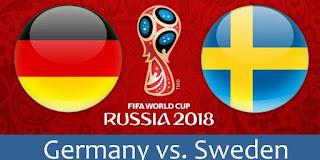 كروس ينقذ المنتخب الألماني من شبح الخروج المبكرا امام المنتخب السويدي  Sweden - Germany