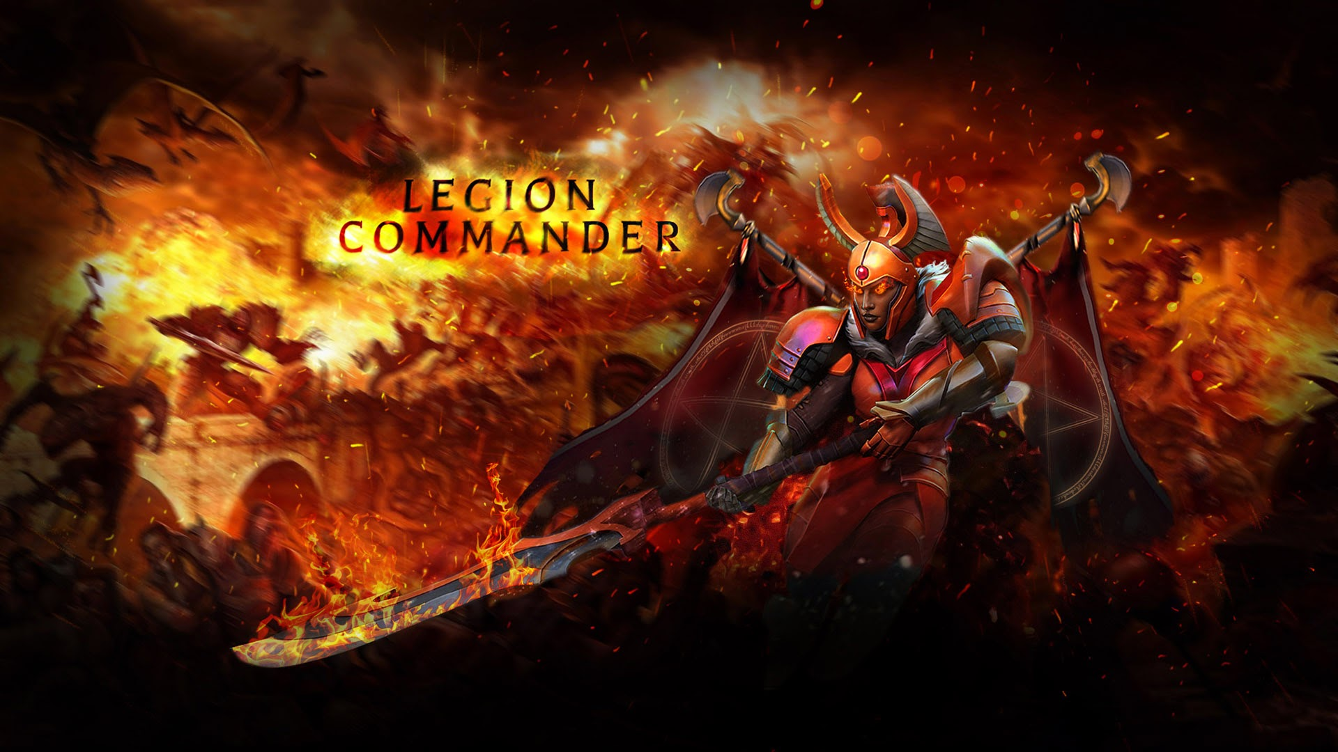 Legion Commander Dota 2 7c Wallpaper HD