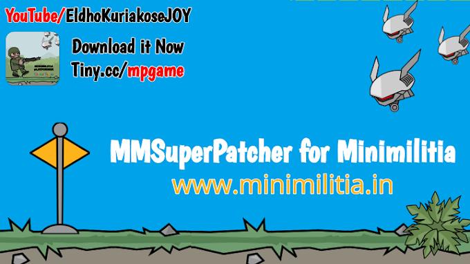 Download MMSuperPatcher Apk v2.3 for Doodle Army2: Minimilitia v4.2.8