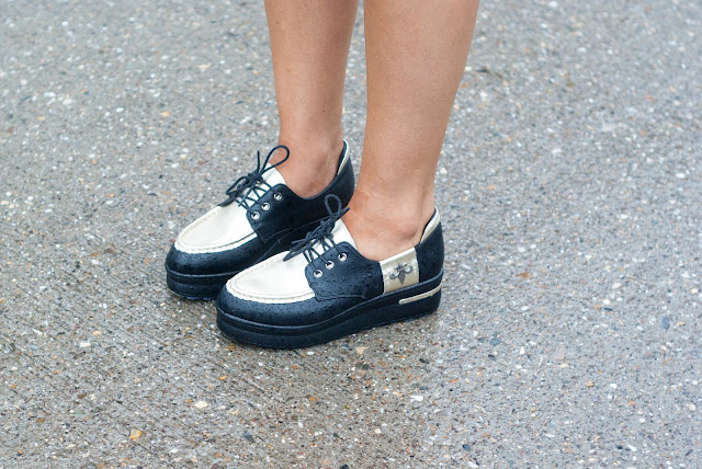 Fashionblogger, Platforms, Sneakers,