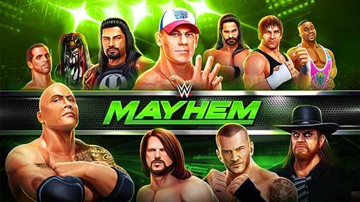 تحميل WWE Mayhem اخر اصدار 2018
