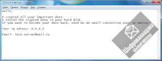 R-E-A-D-M-E.txt LoveServer Ransomware шифровальщик