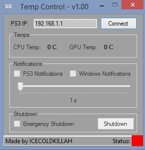PS3 Temperature Control | PS3Montreal