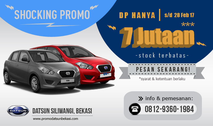datsun shocking promo - februari 2017