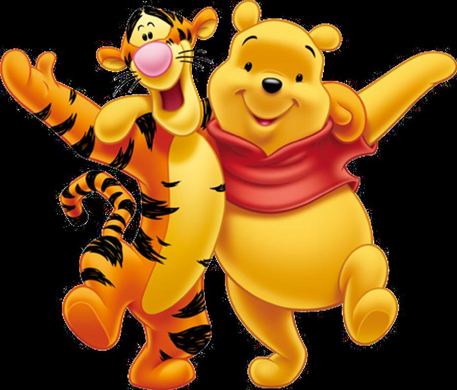 Render Winnie the Pooh,Tigger