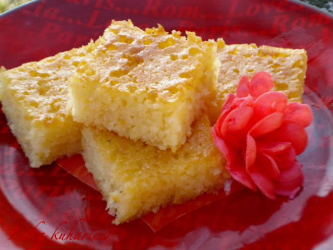 Moroccan rose by Laka kuharica: ambrosial, super moist cake very simple and easy to make.