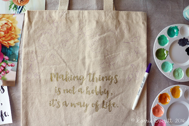 You're Tote-ally Awesome | Makeful | Lorrie Everitt Studio