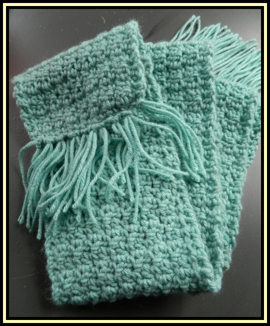 Beginner Crochet Scarf Patterns