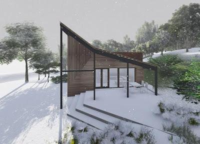 Proiect -  arhitectura - casa vacanta