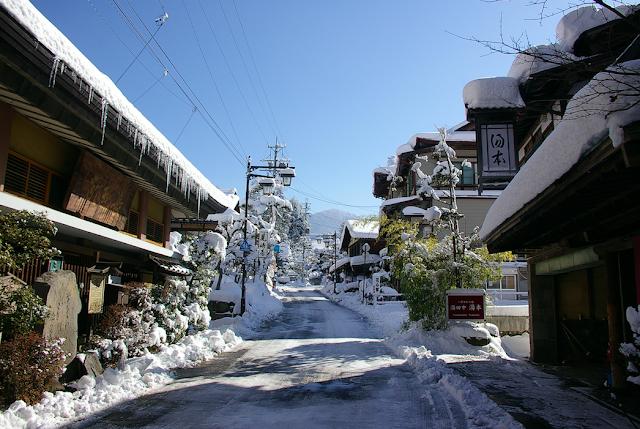 Yudanaka onsen