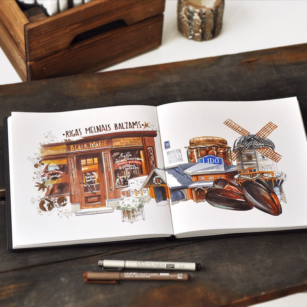 07-Black-Magic-Bar-and-Lido-Anna-Rastorgueva-Architecture-Travel-Journal-Urban-Sketches-Illustrations-www-designstack-co