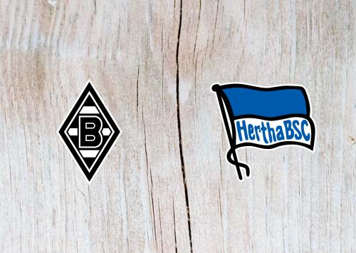 Borussia Monchengladbach vs Hertha Berlin  - Highlights 9 February 2019