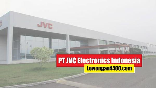 Lowongan Kerja PT. JVC Electronics Indonesia Karawang Juni 2020