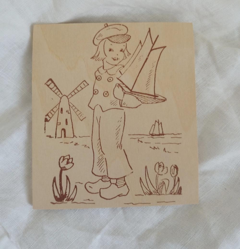 vintage wooden engraving