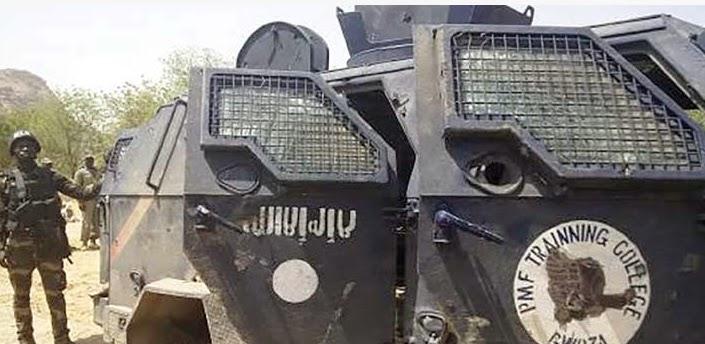 nigerian army apc stolen boko haram recovered