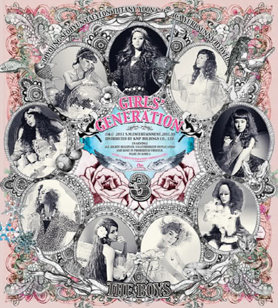 Girls' generation - The boys | Album art & tracklist