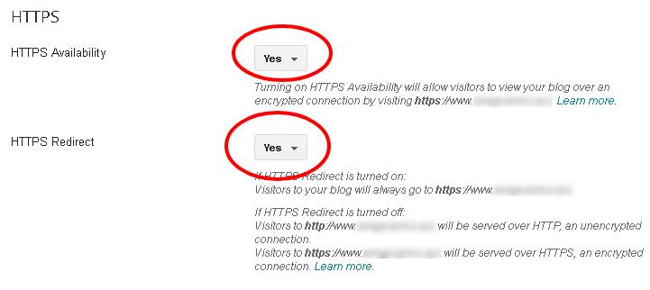 Cara Mengganti HTTP ke HTTPS Blogger Costum Domain