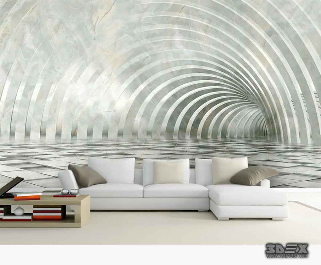 Amazing 3D wallpaper for living room, bedroom, kitchen and bathroom