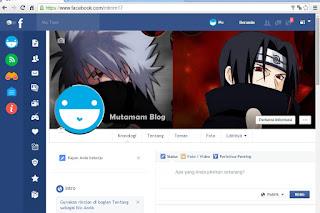 Ubah Tampilan Facebook Menjadi Flat