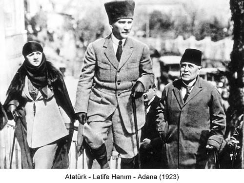 Atatürk Latife Hanım 1923 Fotoğraf