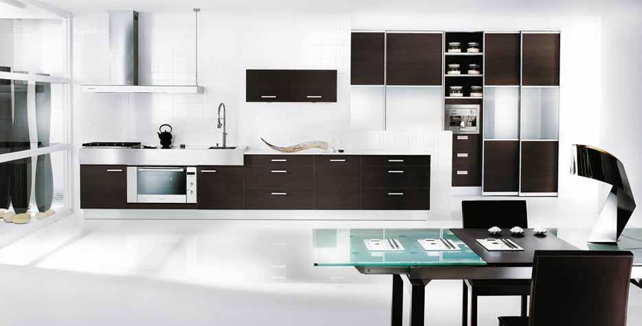 Desain Dapur Minimalis Hitam Putih