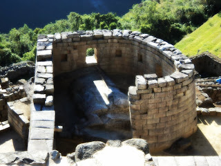 Templo do Sol de Machu Picchu no Solstício de Inverno