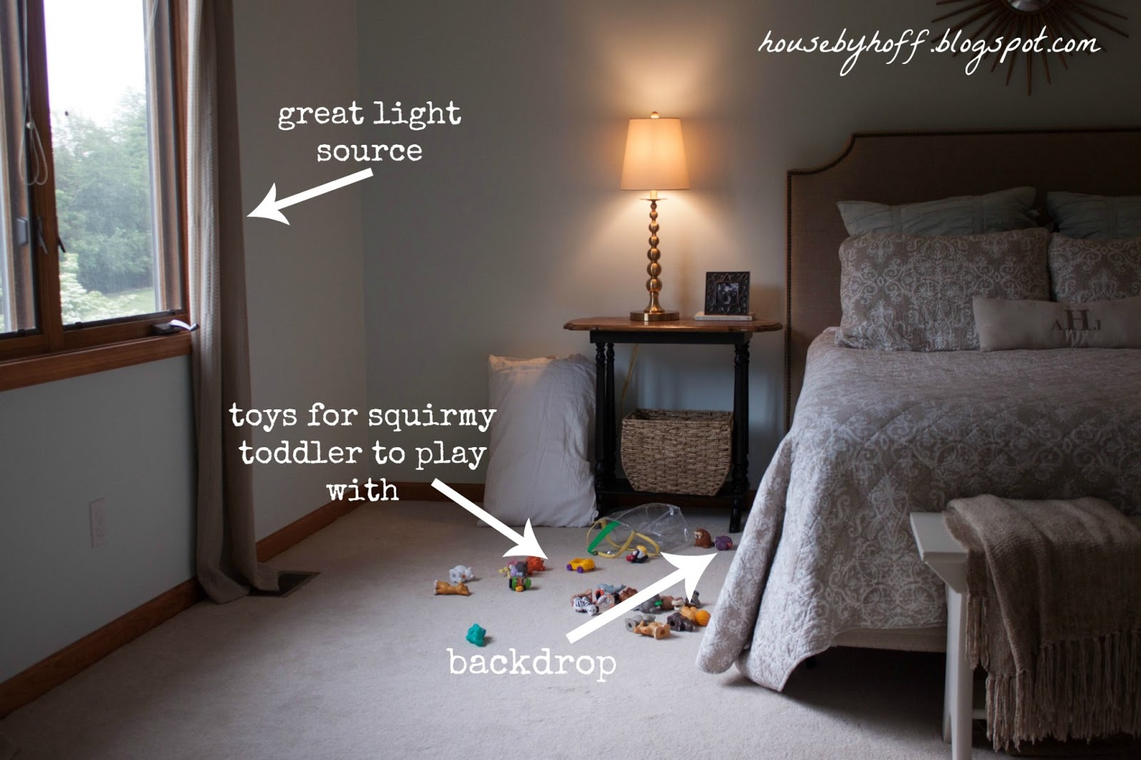 & Faking a Photography Studio in Your Home - House by Hoff