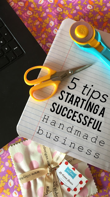 5 Tips to Start a successful handmade business