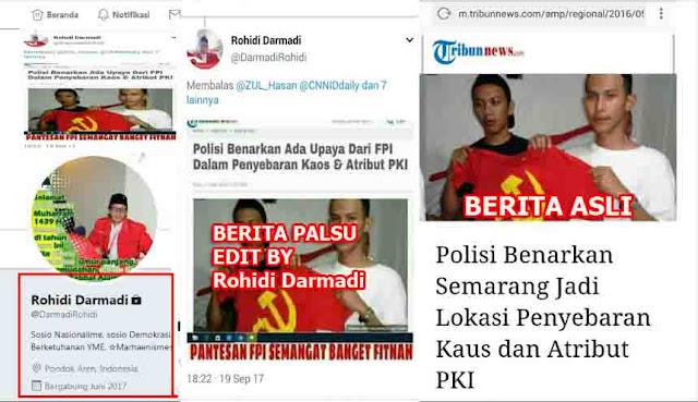 Ketahuan Edit Berita Untuk Fitnah FPI, Pembenci Kabur Kunci Akun Twitter